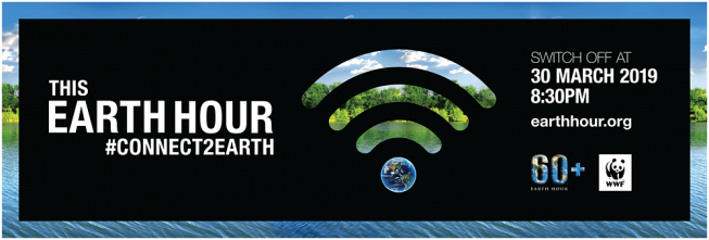 Claus, Courtyard hotel en Papa's Beach House doen het licht uit tijdens Earth Hour