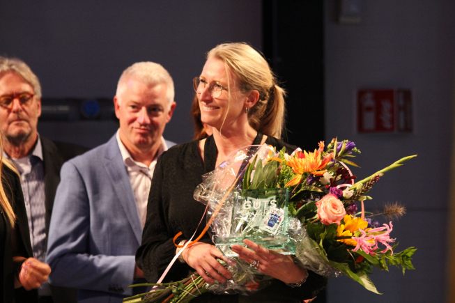 Andrea van de Graaf winnares The Guts Award 2019