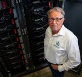 'Spectaculaire vermogens opslaan in batterijen'