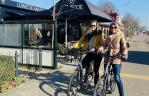 Op de fiets met Lowietje