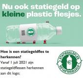 Nu ook statiegeld op kleine plastic flesjes